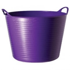 Flexible Multi-Purpose Bucket Large 38 Litre Purple