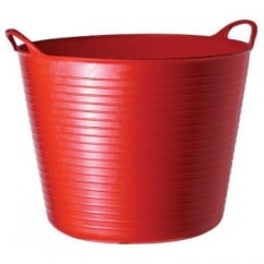 Flexible Multi-Purpose Bucket Large 38 Litre Red