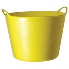 Flexible Multi-Purpose Bucket Large 38 Litre Yellow
