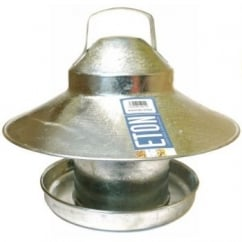 Eton Galvanised Out Door Covered Feeder 2.2kg