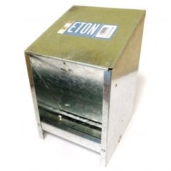 Eton Galvanised Wall Mounted Hopper Feeder 2.5kg