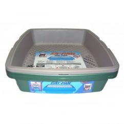 4 Piece Sifting Cat Litter Tray