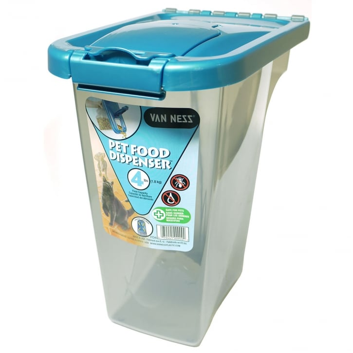 Van Ness Pet Food Storage Container Capacity 4lb | Feedem