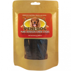 Hypo-Allergenic Pure British Venison Chew Sticks Dog Treats Pack 6