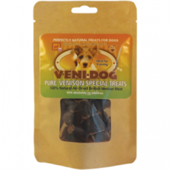 Hypo-allergenic Pure British Venison Special Dog Treats 60g