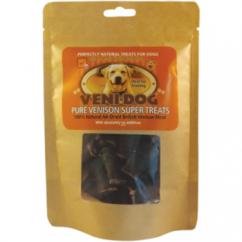 Hypo-Allergenic Pure British Venison Super Dog Treats 100g