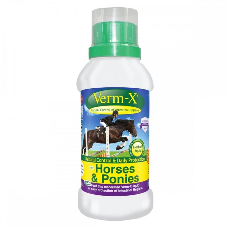 Verm-X Herbal Liquid for Horses & Ponies 250ml