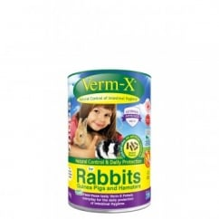 Verm-X Intestinal Health for Rabbits in 180gm tub