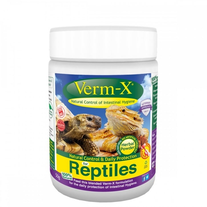 Verm-X Intestinal Health for Reptiles 50gm
