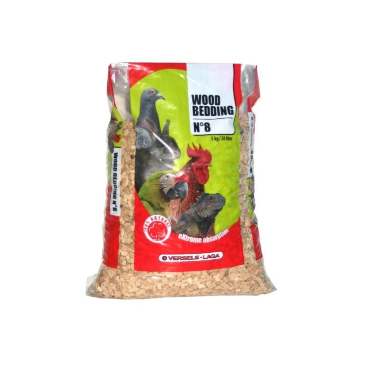 Versele-laga Natural Dried & Purified Wood Chip Reptile Bedding No8 - 5kg
