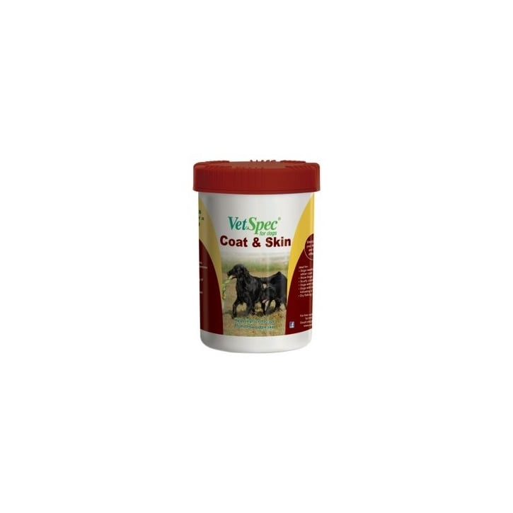VetSpec Coat & Skin Supplement for Dogs 500g