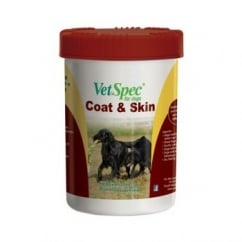 Coat & Skin Supplement for Dogs 500g