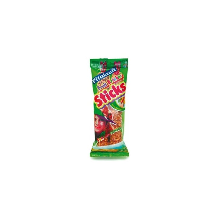 Vitakraft Hamster Fruit & Flake Stick 2 Stick pack