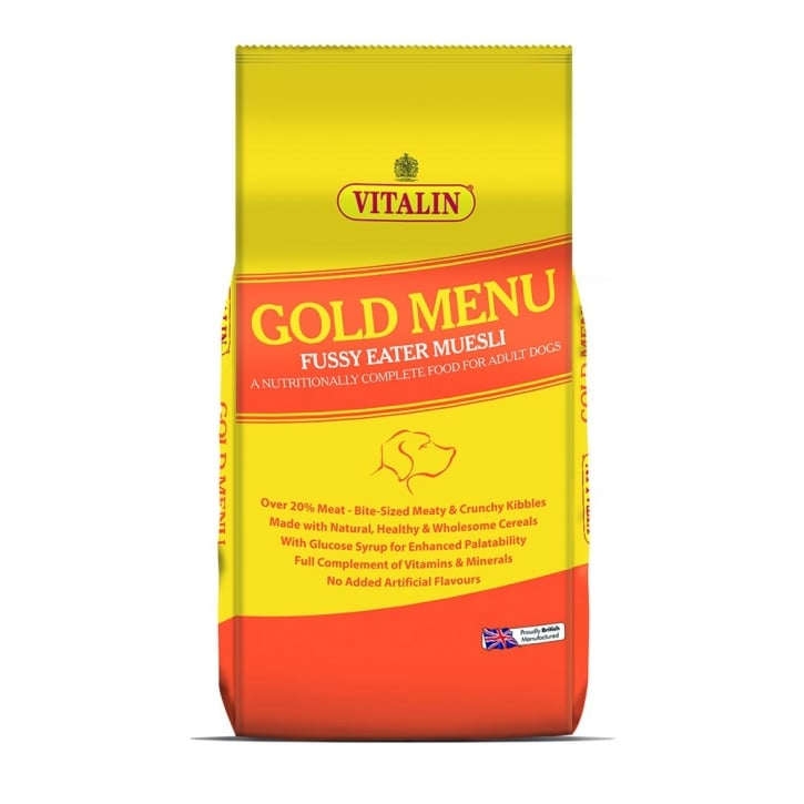 Vitalin Gold Menu Complete Balanced Adult Dog Food 15kg