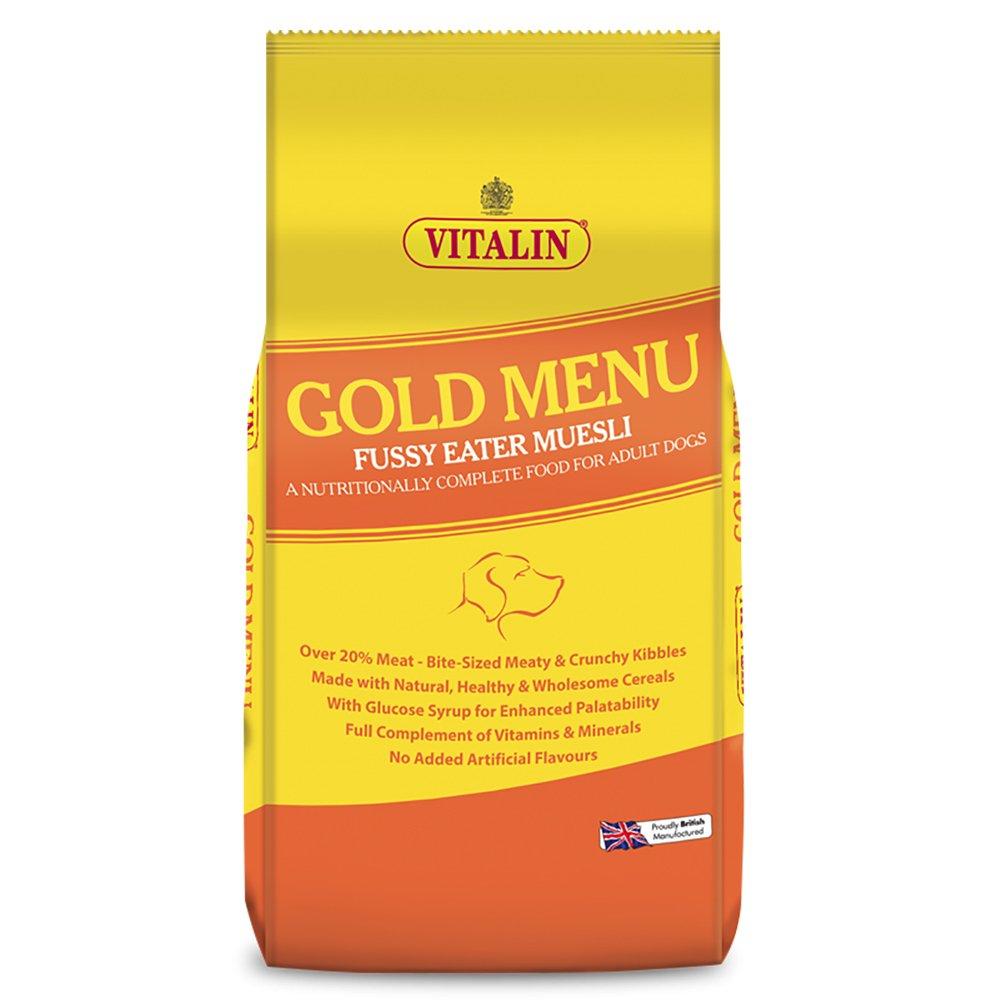 Vitalin gold menu complete balanced adult dog food for Cuisines completes