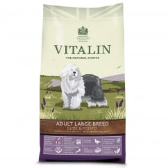 Vitalin Natural Adult Large Breed Duck & Potato 12kg