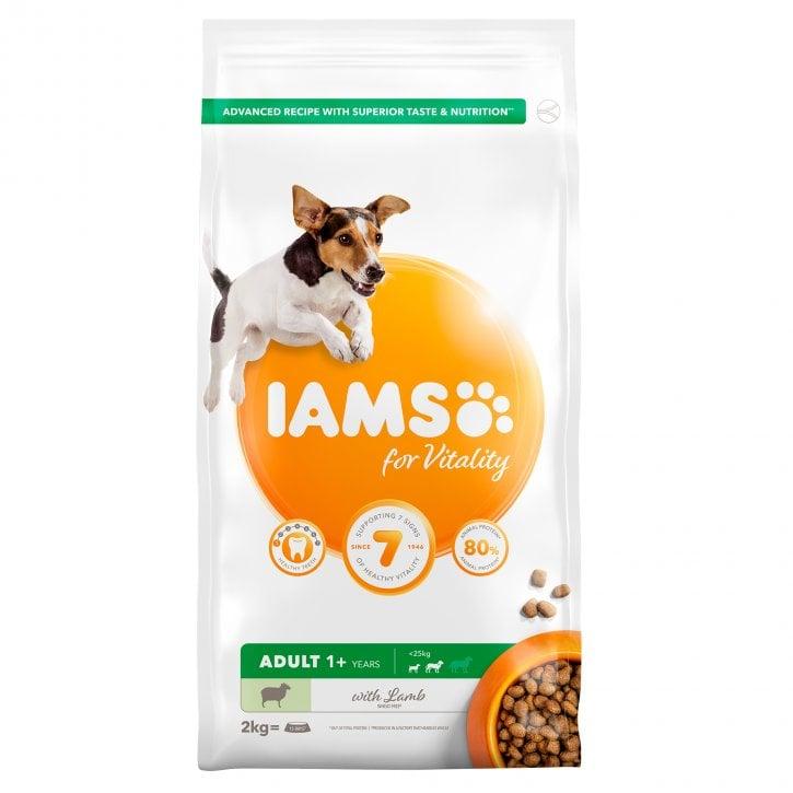 Iams Vitality Adult Smallmedium Breed Dog Food With Lamb