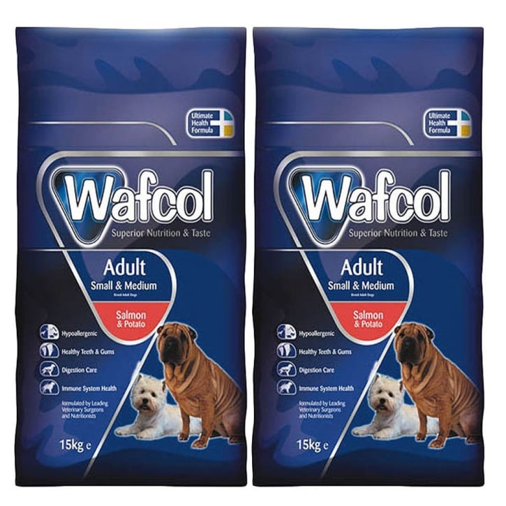 Wafcol Adult Dog Food Smallmedium Breed Salmon Potato