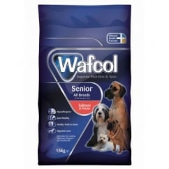 Wafcol Hypoallergenic All Breeds Senior Dog Food Salmon & Potato 12kg