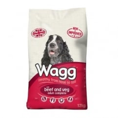 Beef & Veg Adult Dog Food 12kg