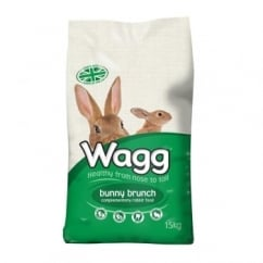 Wagg Bunny Brunch Complete Rabbit Food 15kg
