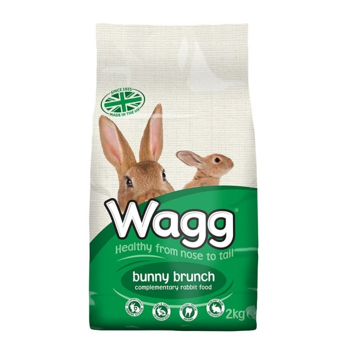 Wagg Bunny Brunch Complete Rabbit Food 2kg