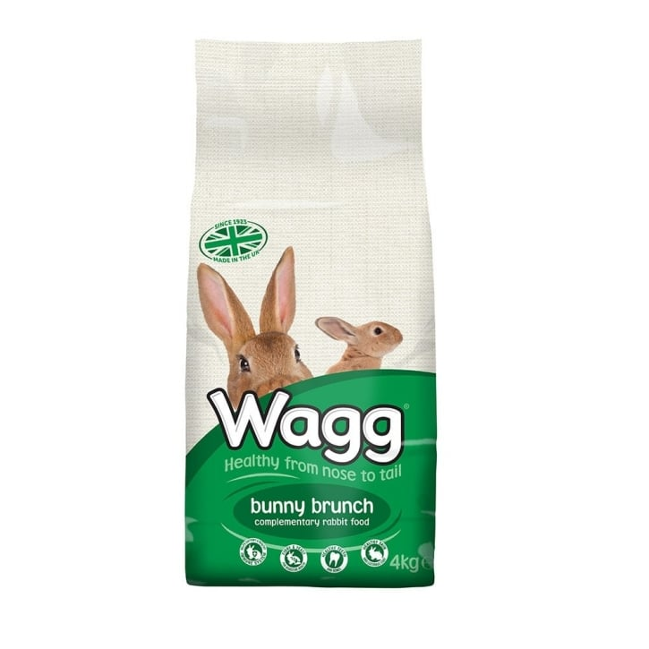 Wagg Bunny Brunch Complete Rabbit Food 4kg