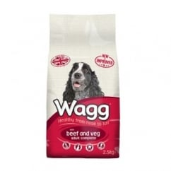 Complete Adult Dog Food With Beef & Veg 2.5kg