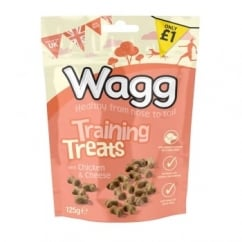 Wagg Dog Training Treats with Chicken & Cheese 125g