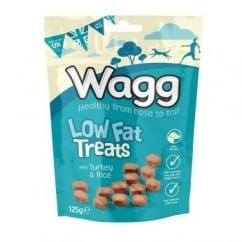 Wagg Low Fat Dog Treats 125g