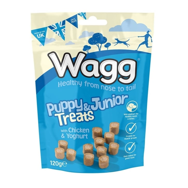 Wagg Puppy & Junior Dog Treats 120g