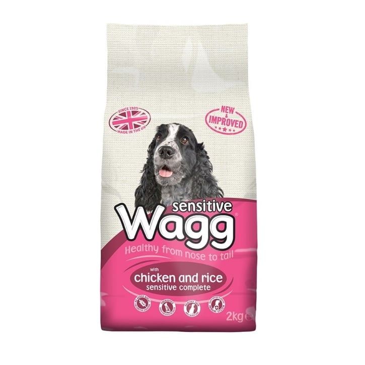 Wagg Sensitive Adult Dog Food With Chicken & Rice 2kg