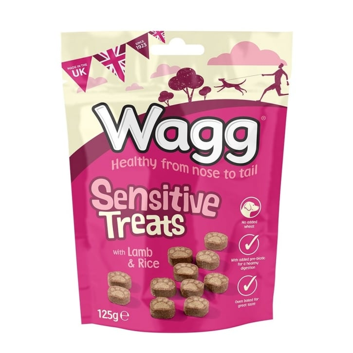 Wagg Sensitive Dog Treats 125g
