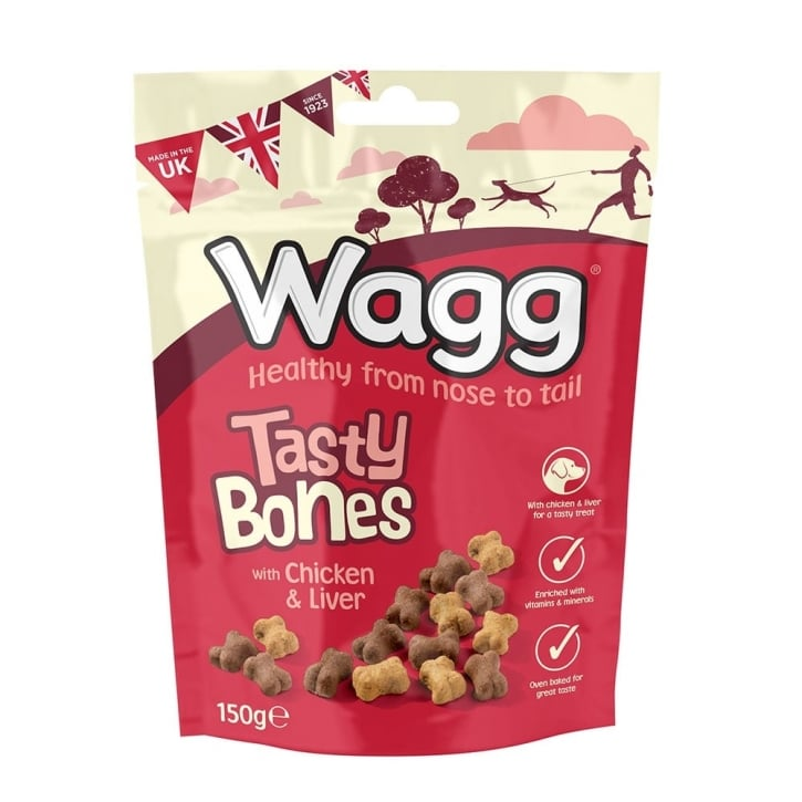 Wagg Tasty Bones Dog Treats 150g