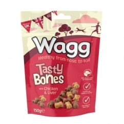 Tasty Bones Dog Treats 150g
