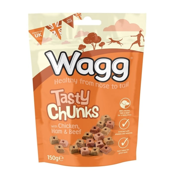Wagg Tasty Chunks Dog Treat 150g