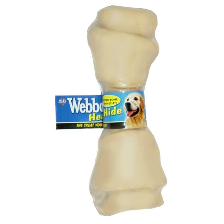 Webbox Webbox Healthy Hide Large Knotted Bone Golden 25 to 28 cm