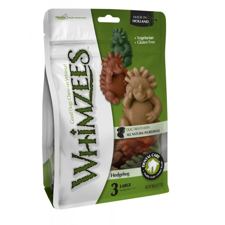 Whimzees Hedgehog Dog Treat XLarge 3pack