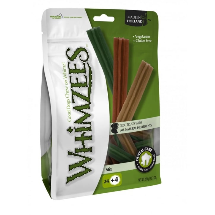 Whimzees Stix Dog Treat Small 12cm 24pack