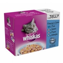Fishermans Choice Cat Food Pouches In Jelly Pack 12 X 100gm