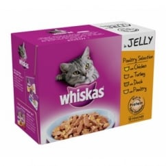 Pouches Poultry Selection In Jelly 12 Pack 100gm