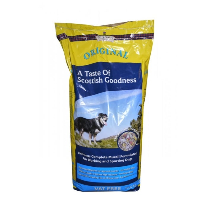 Wilsons Original Muesli Working Dog Food 12.5kg Vat Free