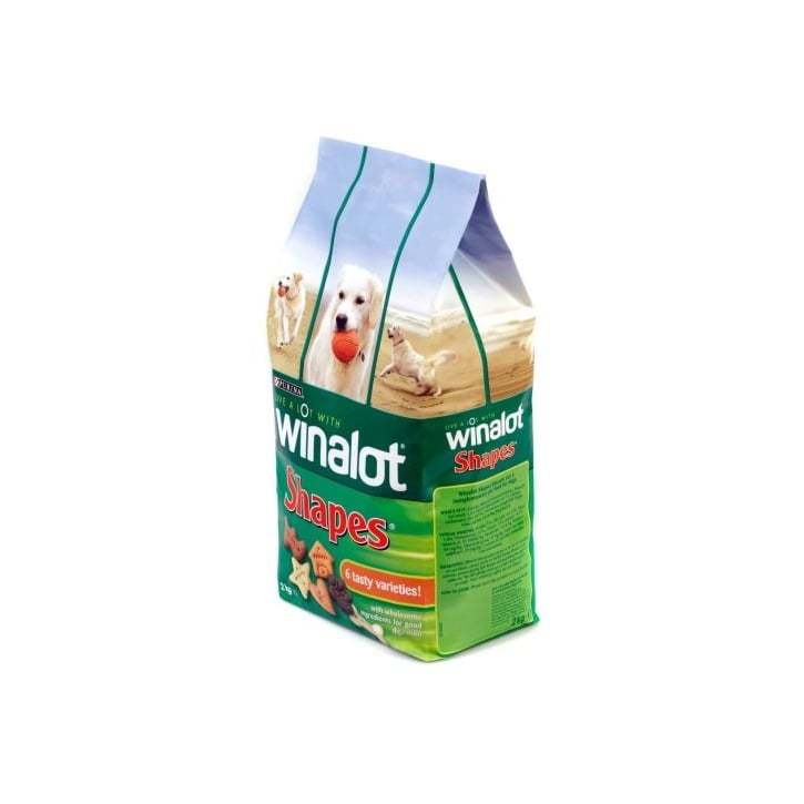Winalot Shapes Dog Biscuits 2kg Pack