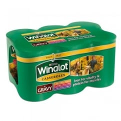 Winalot Wet Dog Food Mixed Variety Casserole in Gravy 6 Pack