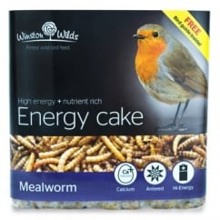 Winston Wilds Wild Bird Mealworm Energy Cake 325g