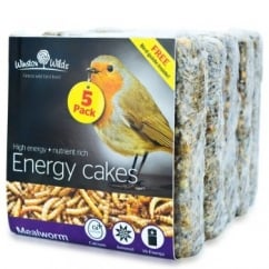 Winston Wilds Wild Bird Mealworm Energy Cake 5 x 325g
