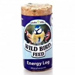 Winston Wilds Wild Bird Mealworm Energy Log 500g