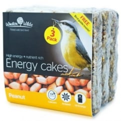 Winston Wilds Wild Bird Peanut Energy Cake 3 x 325g