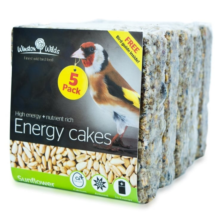 Winston Wilds Wild Bird Sunflower Energy Cake 5 x 325g